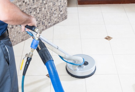 Tile & grout cleaning in Columbus by A Cut Above Cleaning & Floor Care